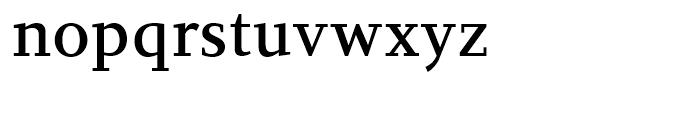 PF Diplomat Serif Medium Font LOWERCASE