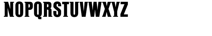 PF Fusion Slab Heavy Font UPPERCASE