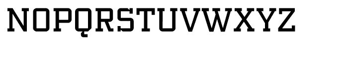 PF Synch Regular Font UPPERCASE