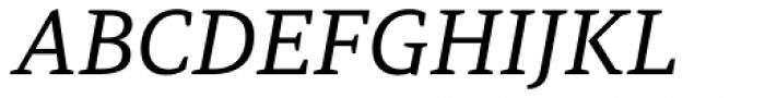 PF Adamant Pro Italic Font UPPERCASE