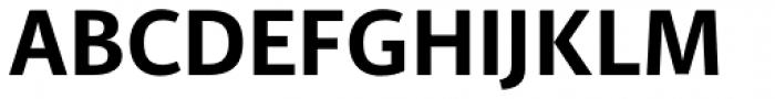 PF Adamant Sans Pro Bold Font UPPERCASE