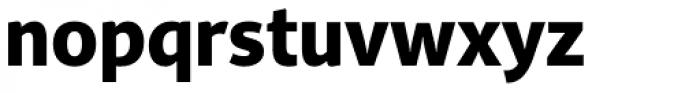 PF Adamant Sans Pro ExtraBold Font LOWERCASE