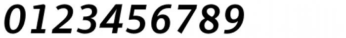 PF Adamant Sans Pro SemiBold Italic Font OTHER CHARS
