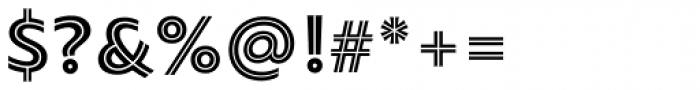 PF Bague Inline Pro Black Font OTHER CHARS