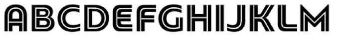 PF Bague Inline Pro Black Font UPPERCASE