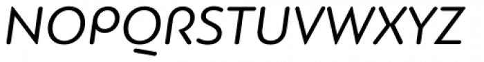 PF Bague Round Pro Italic Font UPPERCASE