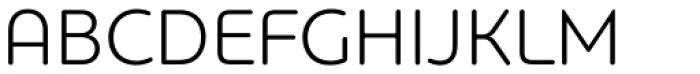 PF Bague Round Pro Light Font UPPERCASE