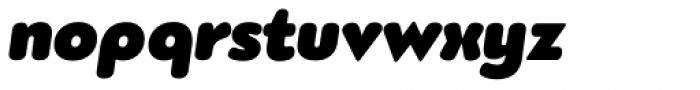 PF Bague Round Pro Ultra Black Italic Font LOWERCASE
