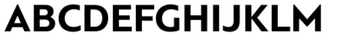 PF Bague Sans Std Bold Font UPPERCASE