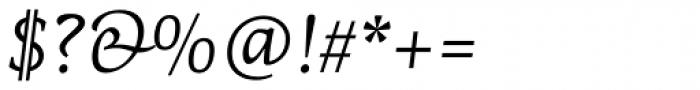PF Centro Serif Pro Italic Font OTHER CHARS