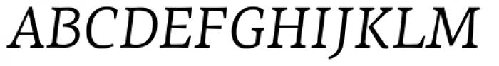 PF Centro Serif Pro Italic Font UPPERCASE
