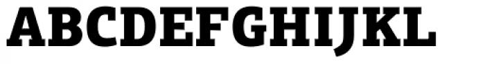 PF Centro Slab Press Black Font UPPERCASE