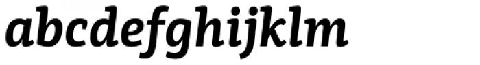 PF Centro Slab Press Bold Italic Font LOWERCASE