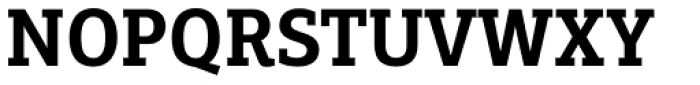 PF Centro Slab Press Bold Font UPPERCASE