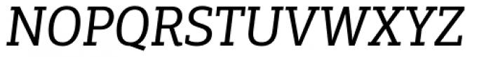 PF Centro Slab Press Italic Font UPPERCASE