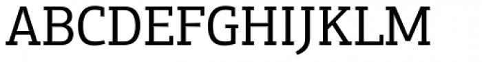 PF Centro Slab Press Regular Font UPPERCASE