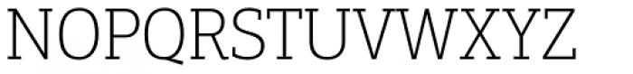 PF Centro Slab Press Thin Font UPPERCASE
