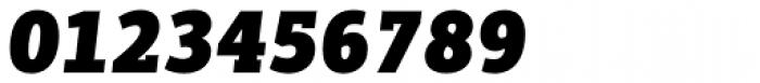 PF Centro Slab Press UBlack Italic Font OTHER CHARS