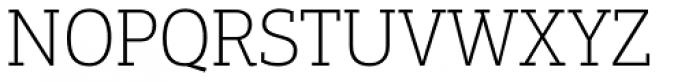 PF Centro Slab Pro Thin Font UPPERCASE