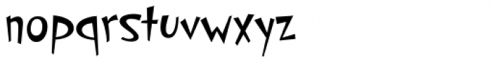 PF Cosmonut Pro Font LOWERCASE