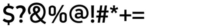 PF DIN Display Pro Medium Font OTHER CHARS