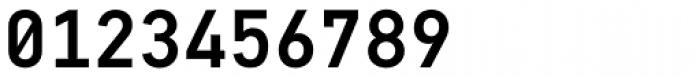 PF DIN Mono Medium Font OTHER CHARS