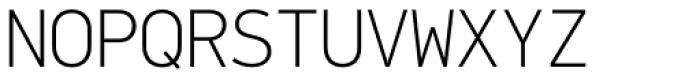 PF DIN Mono Thin Font UPPERCASE