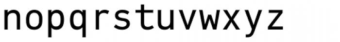 PF DIN Mono Font LOWERCASE