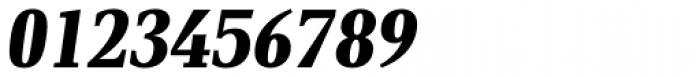 PF DIN Serif Black Italic Font OTHER CHARS
