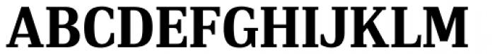 PF DIN Serif Bold Font UPPERCASE