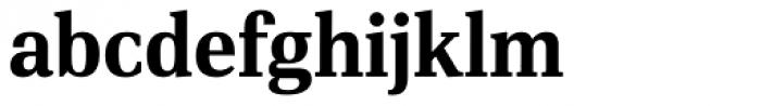 PF DIN Serif Bold Font LOWERCASE