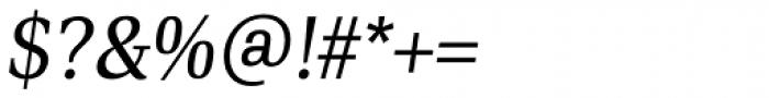 PF DIN Serif Italic Font OTHER CHARS