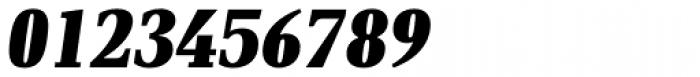 PF DIN Serif XBlack Italic Font OTHER CHARS