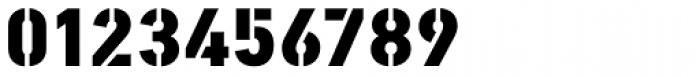 PF DIN Stencil B Black Font OTHER CHARS