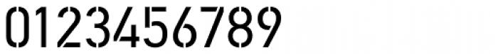PF DIN Stencil Pro Regular Font OTHER CHARS