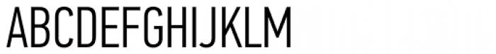 PF DIN Text Comp Pro Light Font UPPERCASE