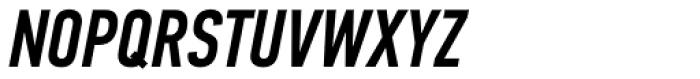 PF DIN Text Comp Pro Medium Italic Font UPPERCASE