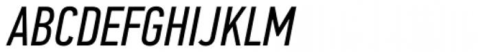 PF DIN Text Comp Std Italic Font UPPERCASE