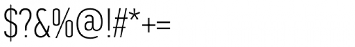 PF DIN Text Comp Std Thin Font OTHER CHARS