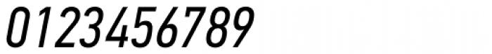 PF DIN Text Cond Std Italic Font OTHER CHARS