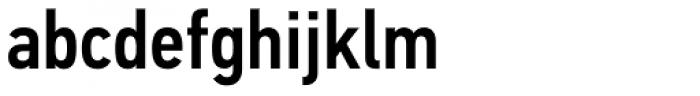 PF DIN Text Cond Std Medium Font LOWERCASE