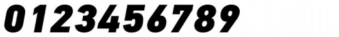 PF DIN Text Pro ExtraBlack Italic Font OTHER CHARS