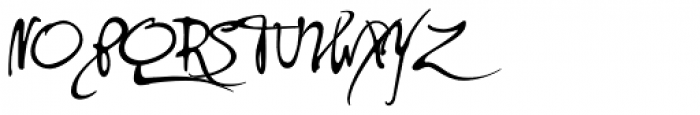 PF DaVinci Script Pro Font UPPERCASE
