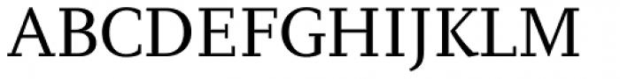 PF Diplomat Serif Font UPPERCASE