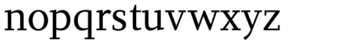 PF Diplomat Serif Font LOWERCASE
