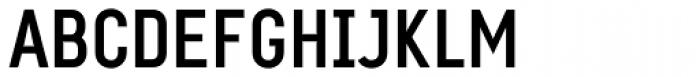 PF Eef Medium Font UPPERCASE
