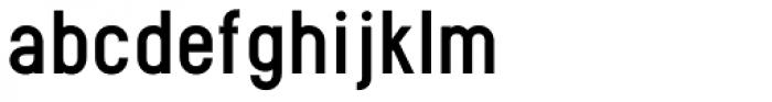 PF Eef Medium Font LOWERCASE
