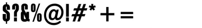 PF Fusion Slab Medium Font OTHER CHARS