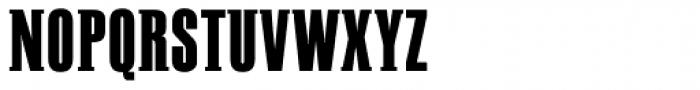 PF Fusion Slab Medium Font UPPERCASE