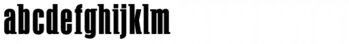 PF Fusion Slab Medium Font LOWERCASE